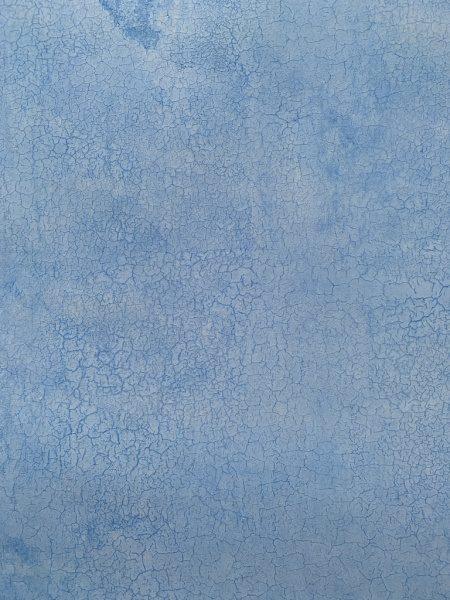 コンクレタールを漆喰面に試験施工。青淡色