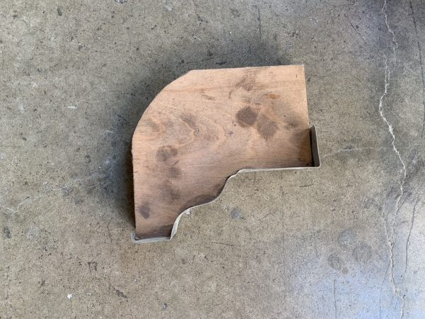亜鉛版の引き型