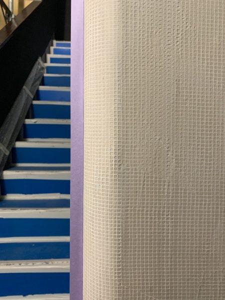 フォンドフレックス塗り。銀座三弘社ビル