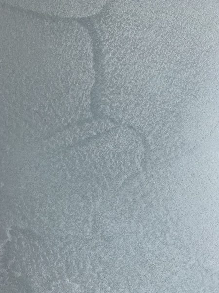 ポリーブル、特注色ブルーグレーを使い表情を付けたサンプル板