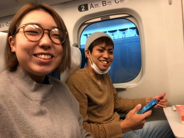 原田左官の土居倫子さんと西泊千尋さん