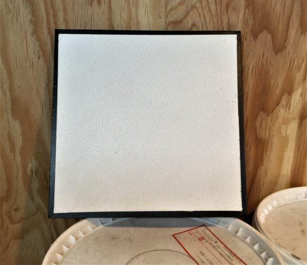 オルトレマテリア白サンプル。シャワー室用