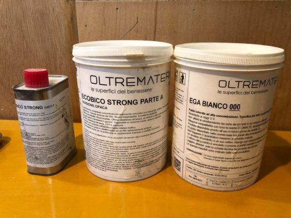 オルトレマテリア材料、エコビコストロングEGA白