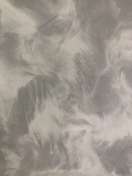 マグネシウム塗り壁材。2色灰色系試作