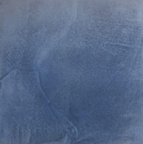 モールテックスに天然藍ペーストを入れたサンプル