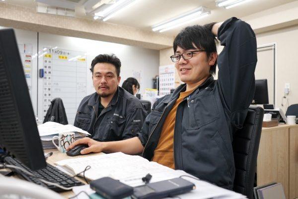 原田左官30代メンバー