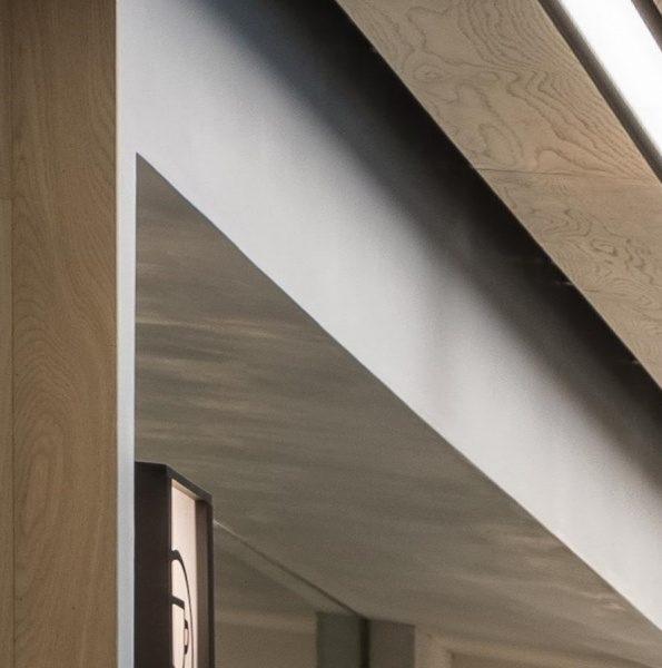 ポリーブル - オフィスの梁型に施工